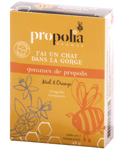 Gommes de Propolis Miel & Orange 45g