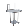 Table rotative Ø 100 cm, en acier inoxydable automatique