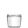Pot verre 236 ml TO82 VERRINE CONIQUE LISSE - Le pack de 20